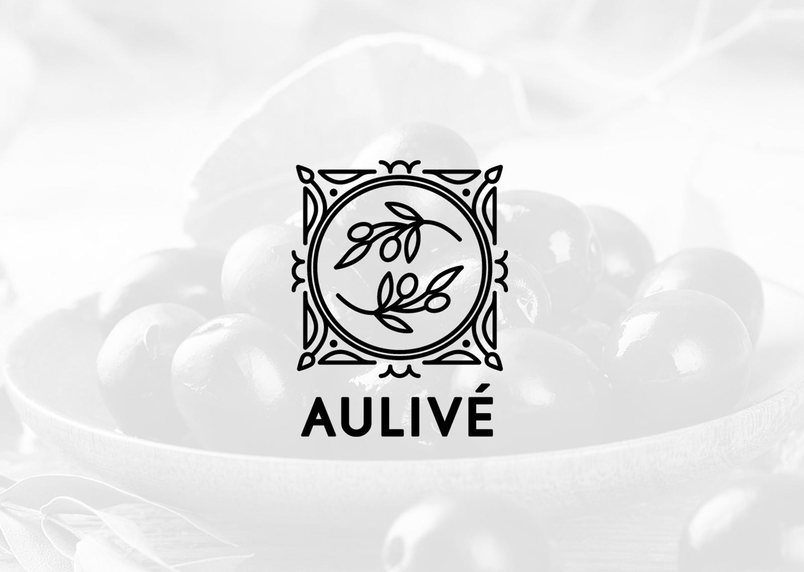 logotipo aulive aceite de oliva