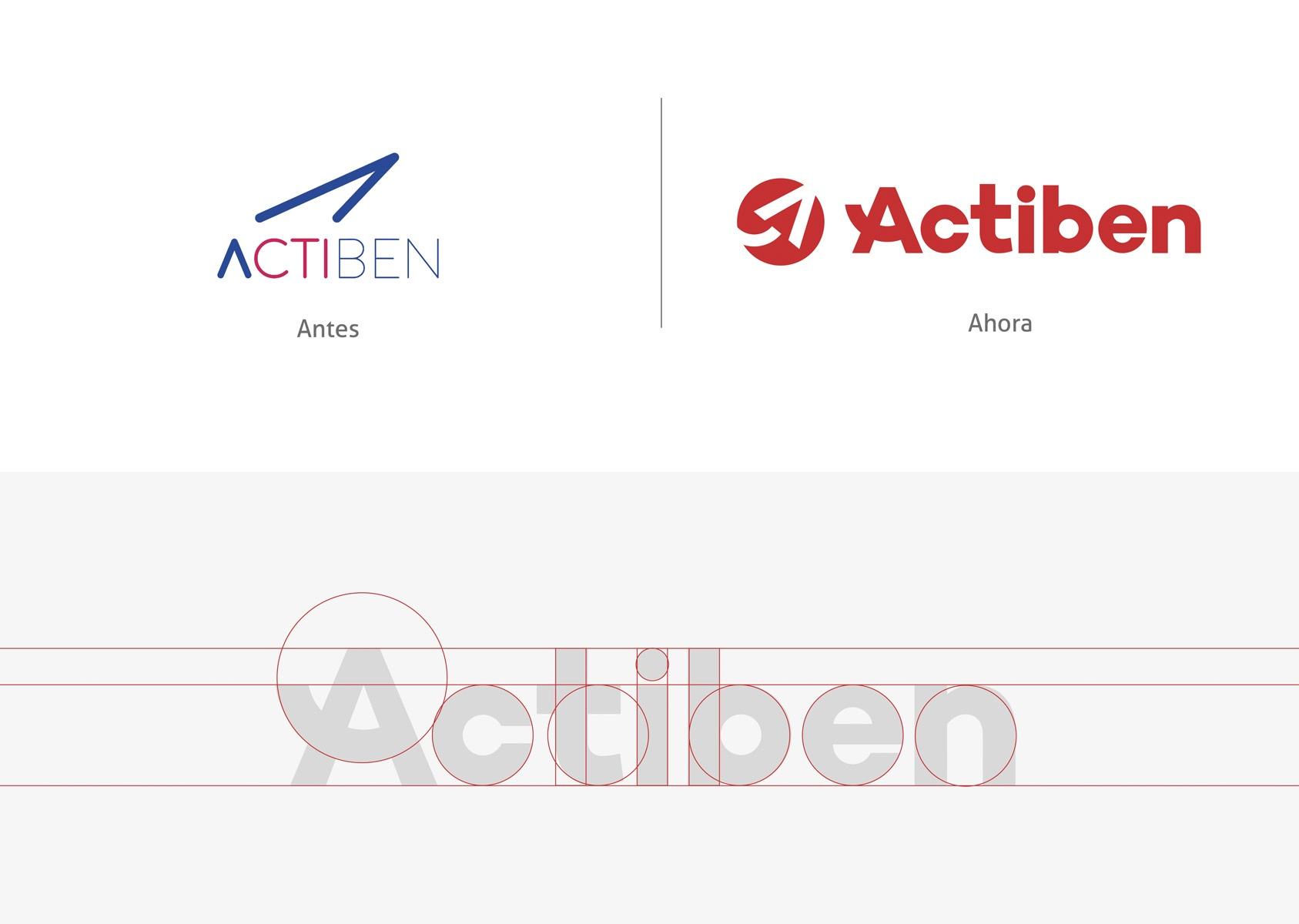 construcción de logotipo