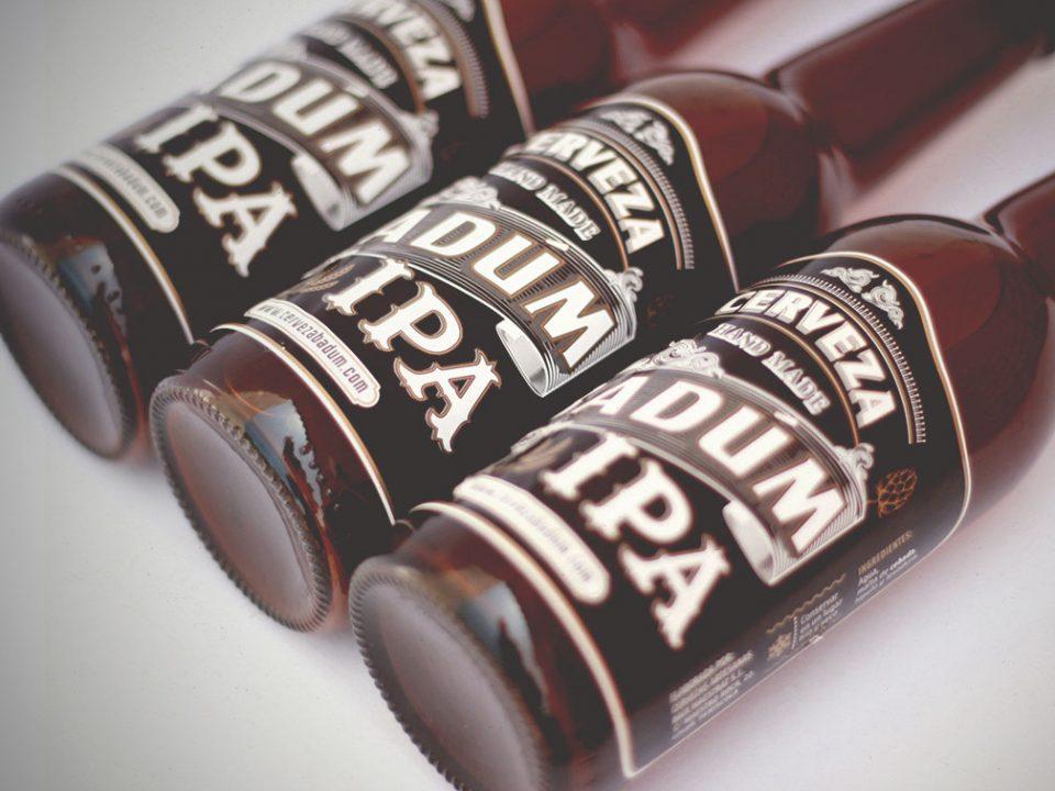 Diseño etiquetas cervezas IPA