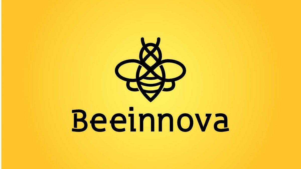 diseño de logotipo para beeinnova, logo design