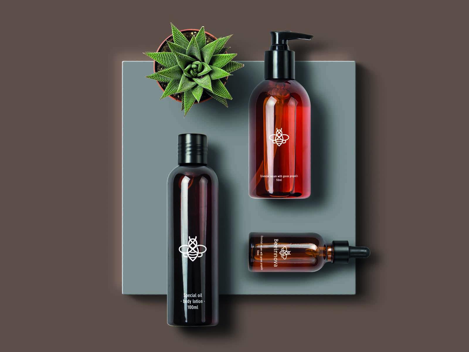 diseño de packaging, cosmeticos, diseño de etiquetas, aplicación de la marca en productos cosméticos