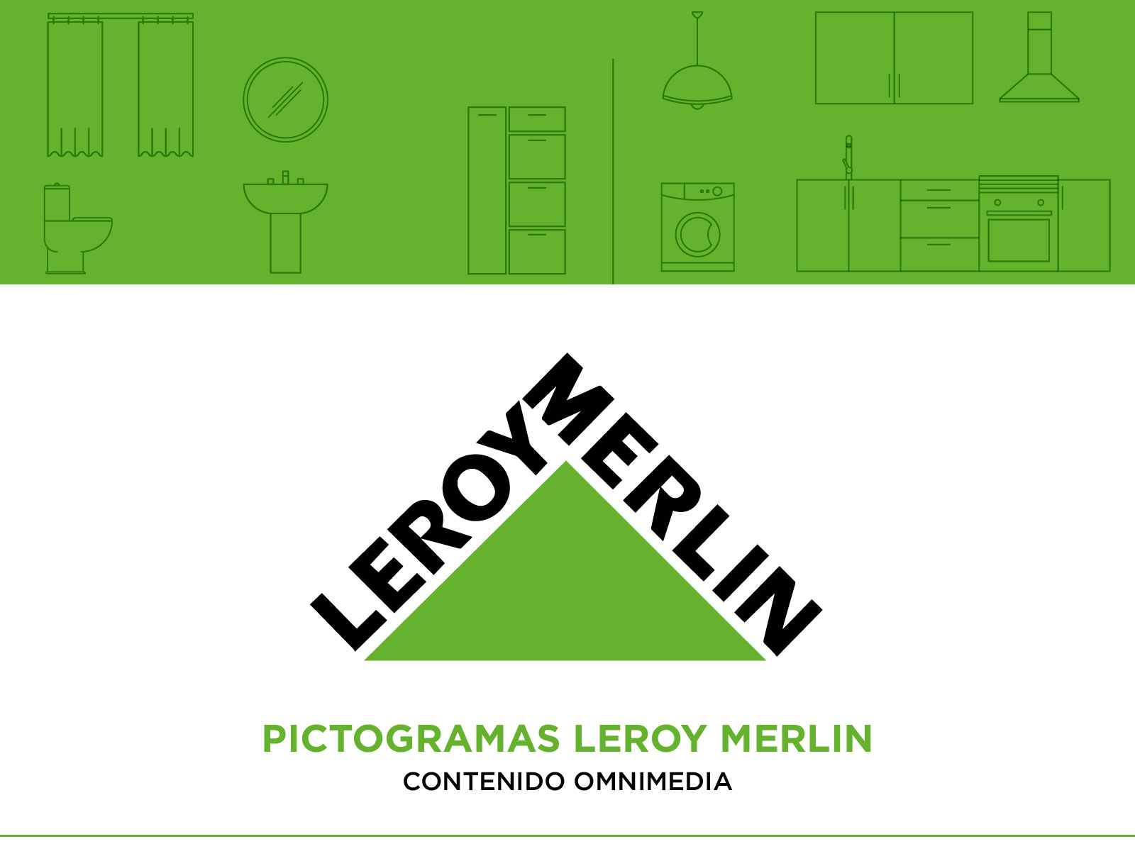 Pictogramas leroy merlin, diseño de pictogramas, iconos, icon design