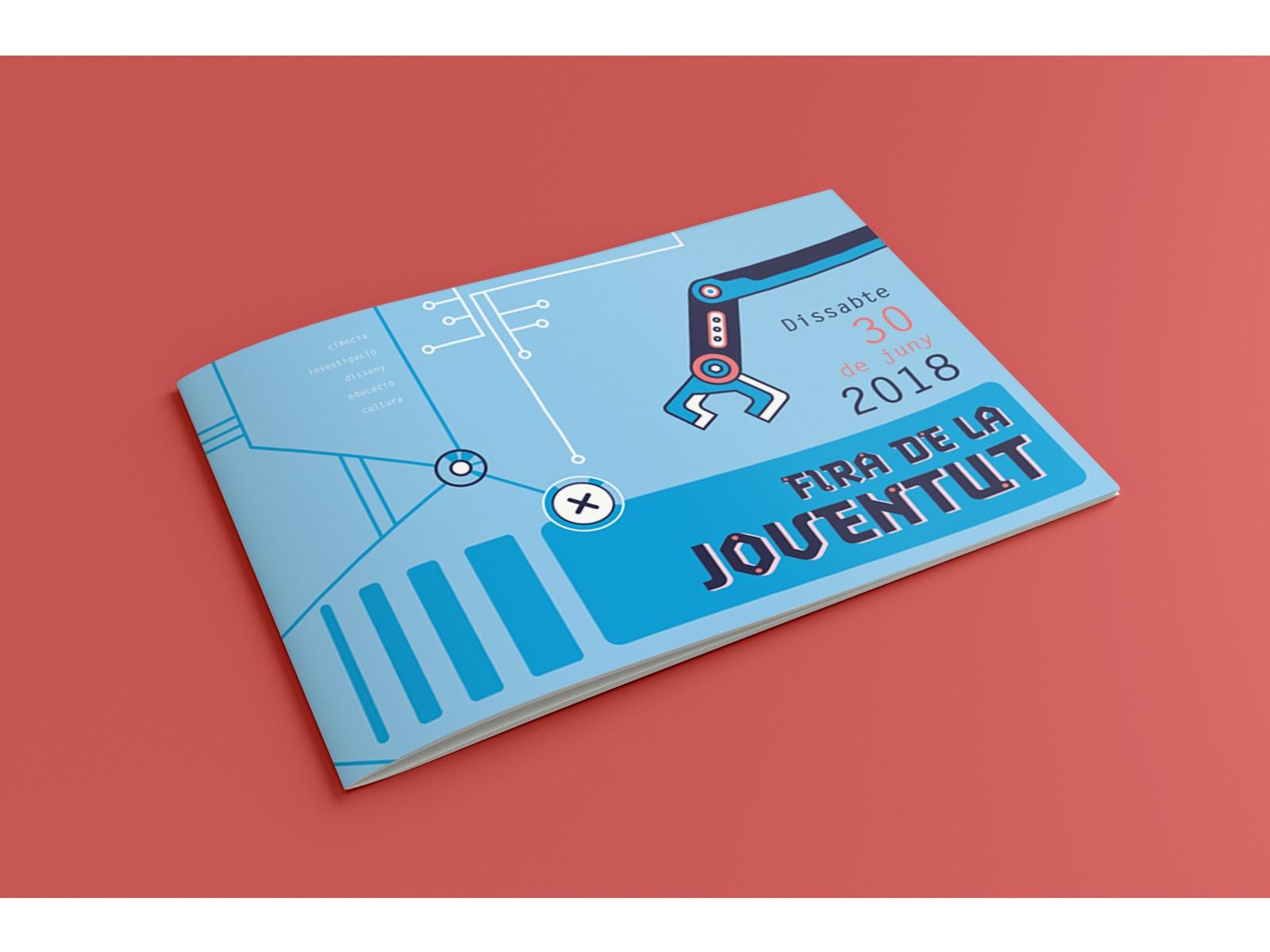 folleto corporativo, soporte de comunicación gráfica