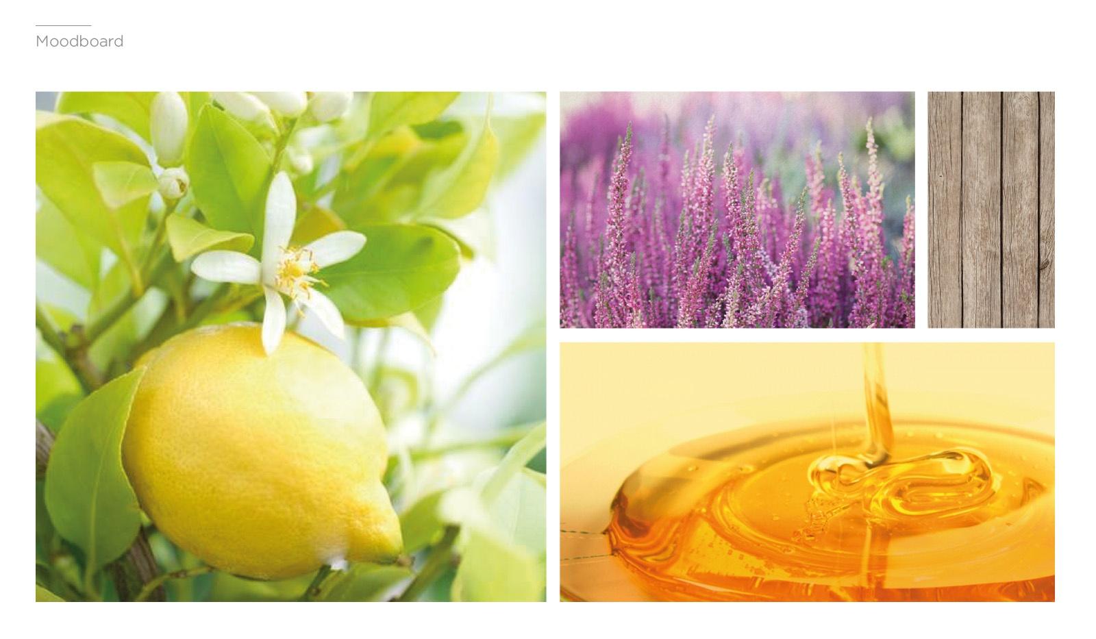 moodboard, flores, limonero
