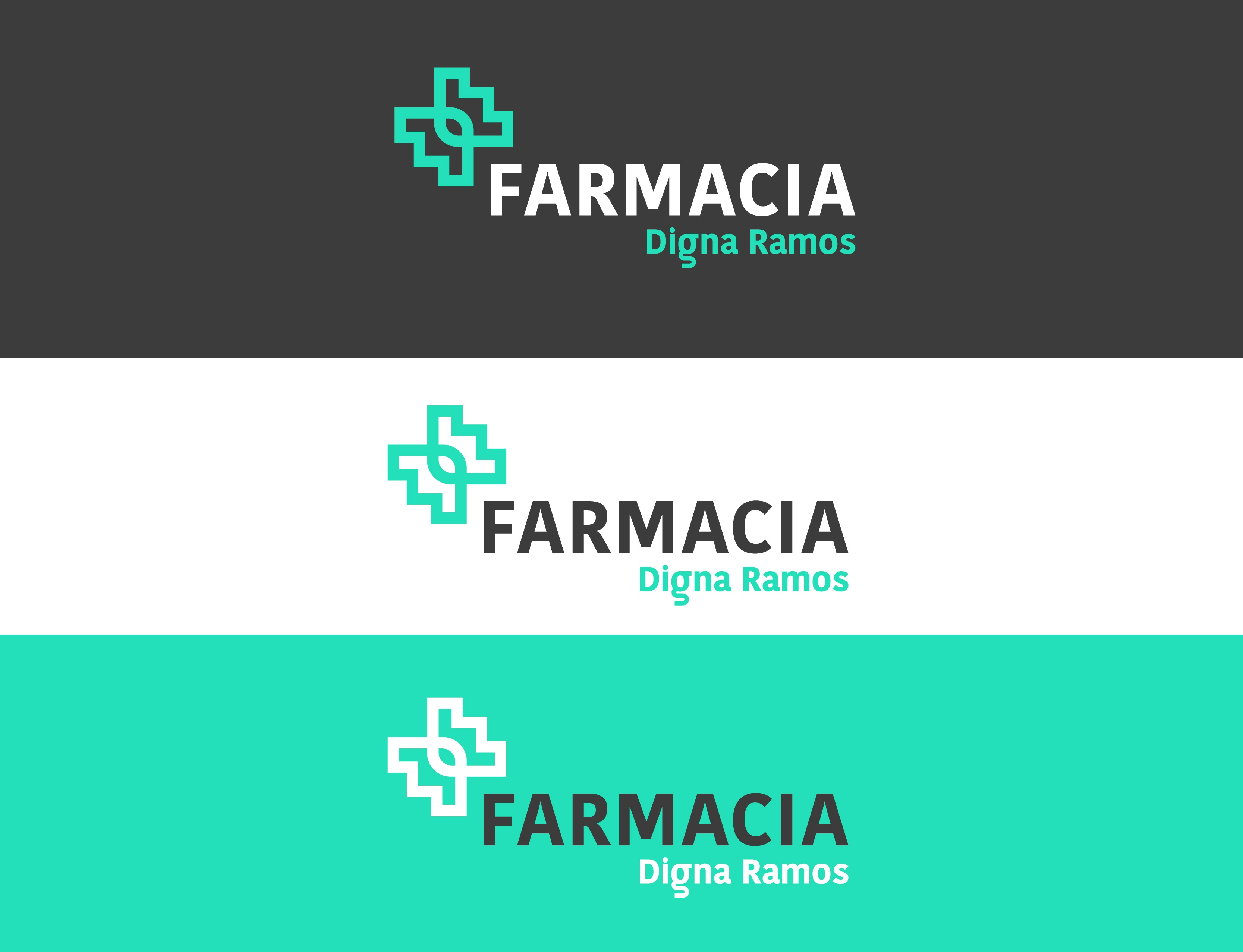 LOGOTIPO FARMACIA DIGNA RAMOS MORELLA
