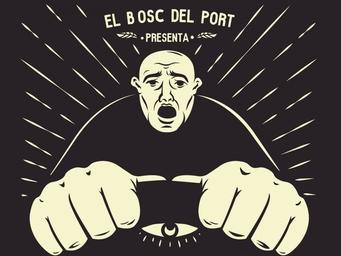 meleta fest poster, artwork, ilustración vectorial, hombre conduciendo, cartel ilustrado, música rock