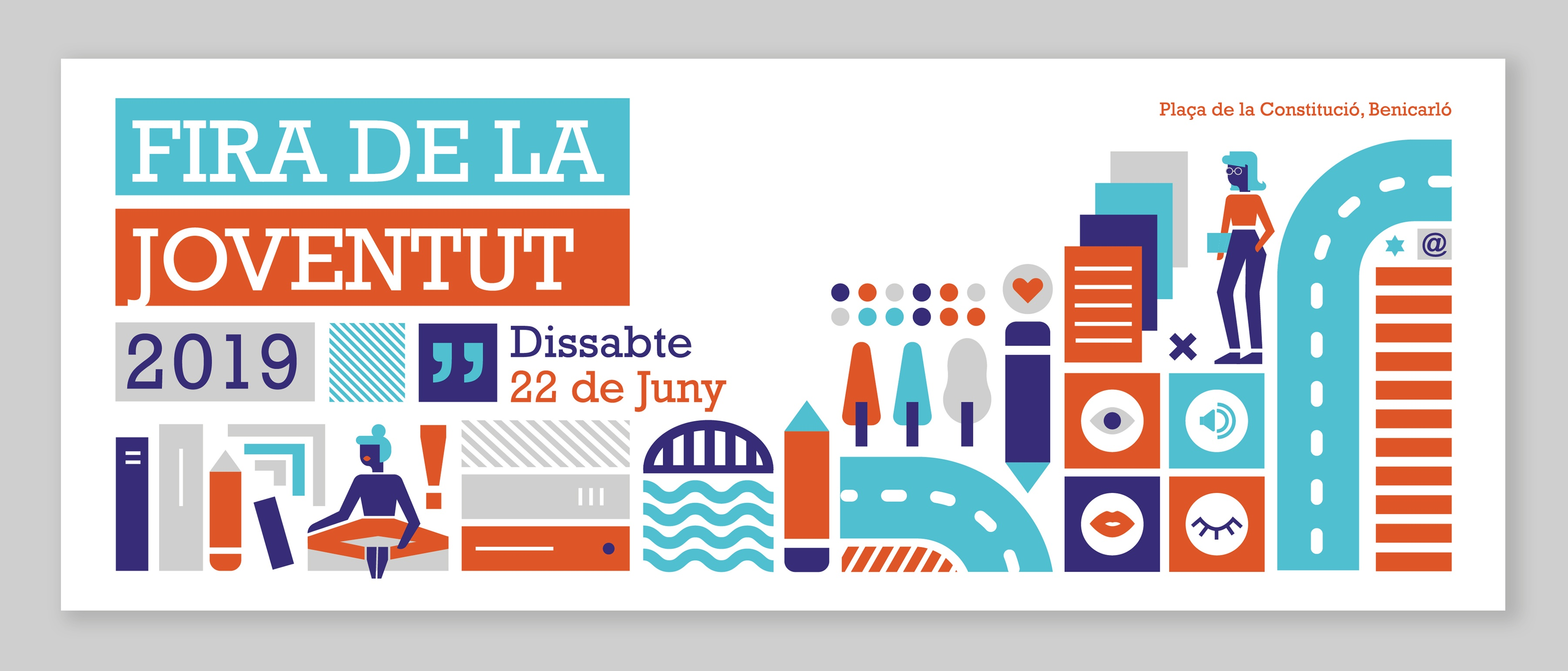 Fira de la Joventut, banner, diseño de banner para la portada de Facebook