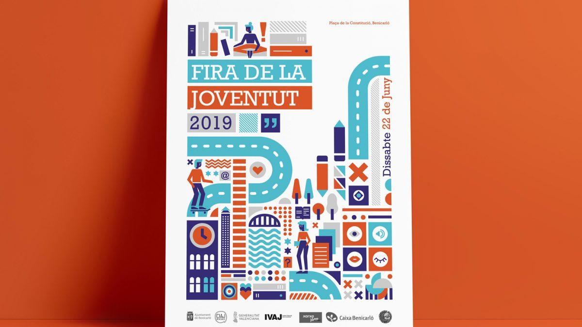 diseño de poster para la Fira 2019