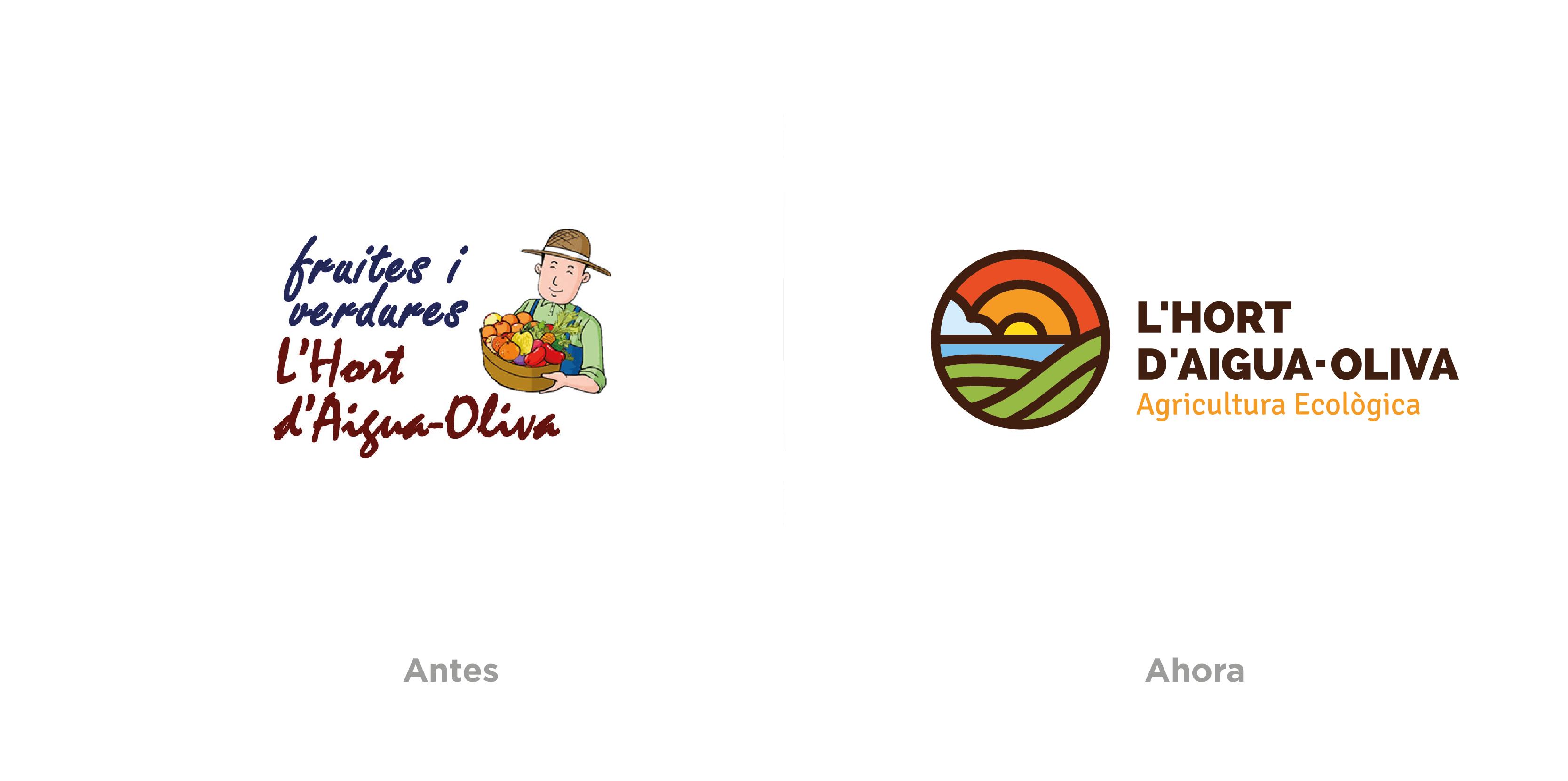L´Hort d'Aigua-Oliva, Diseño de logotipo