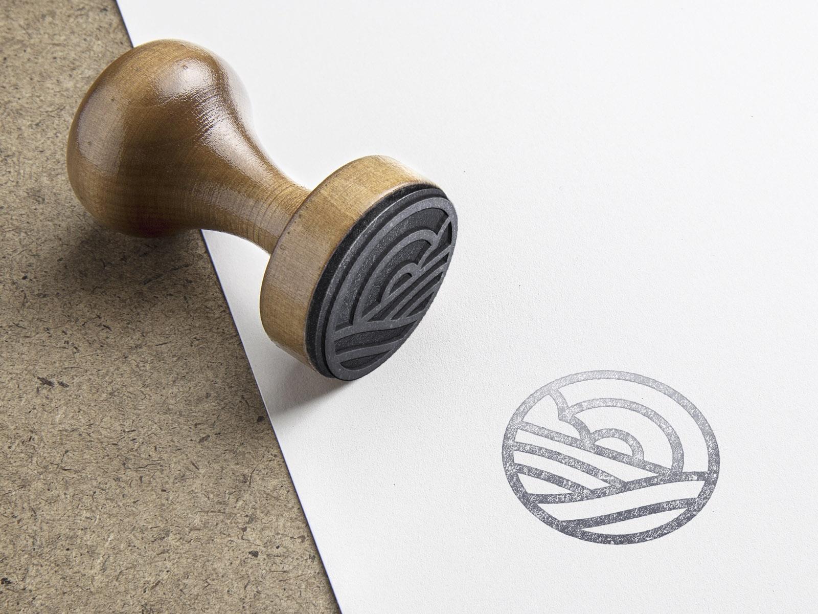 L'Hort d'Aigua-Oliva, Diseño de sello corporativo