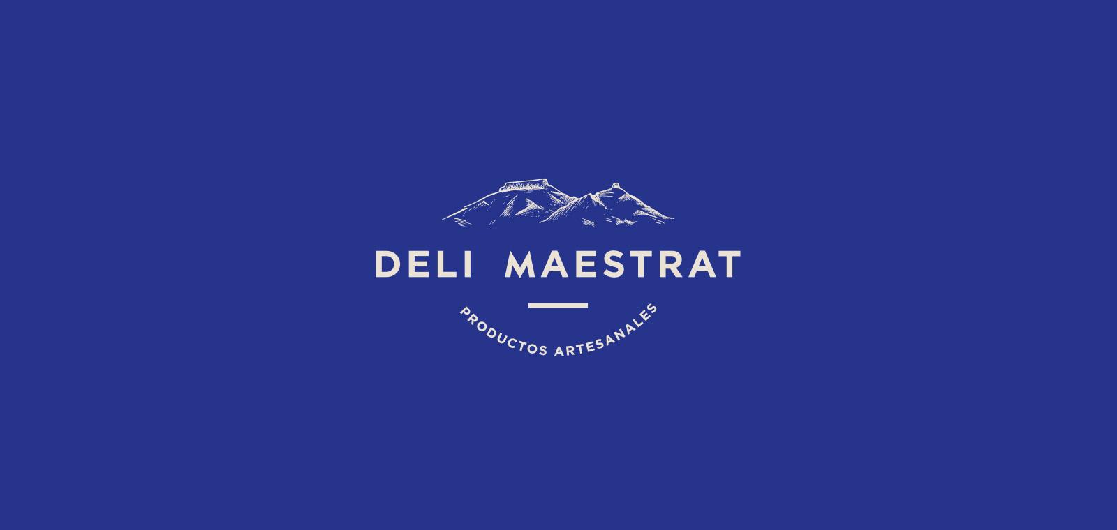 Deli Maestrat es el diseño de un logo para productos artesanales de alimentación