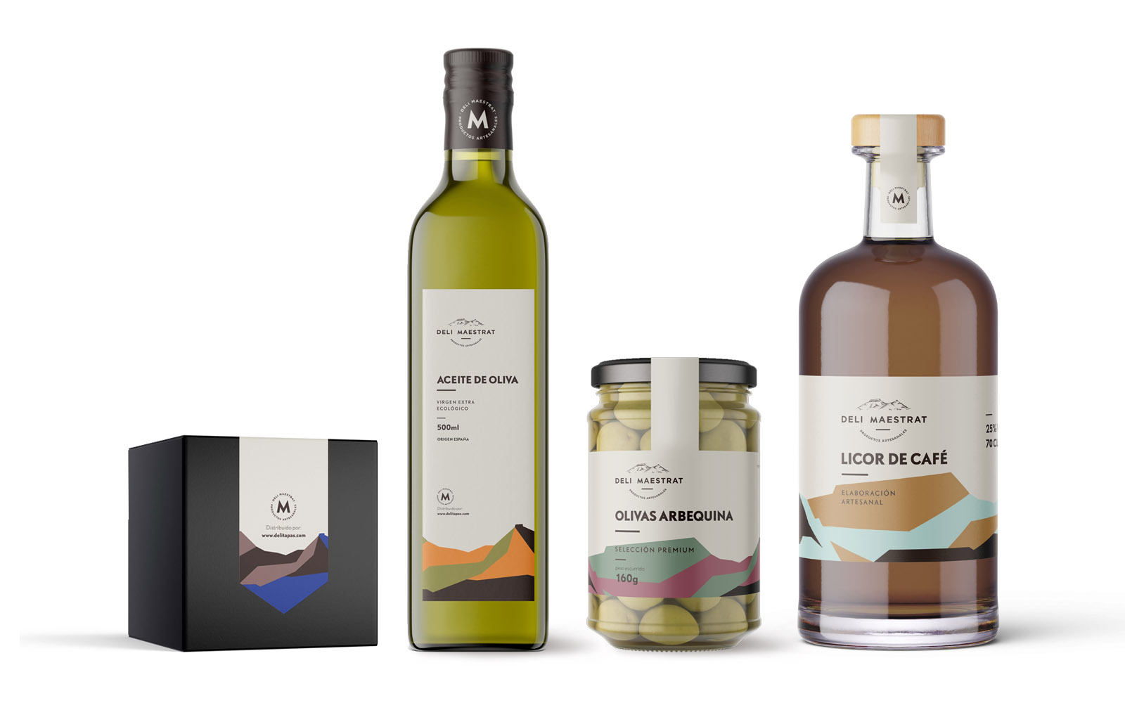 Diseño de packaging para Deli Maestrat