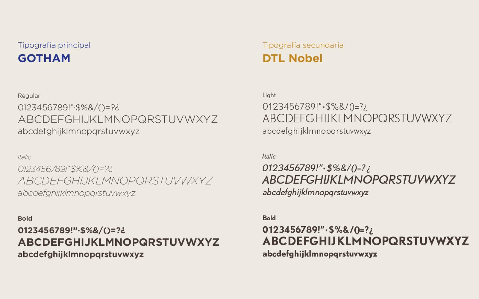 tipografía corporativa para Deli MAestrat