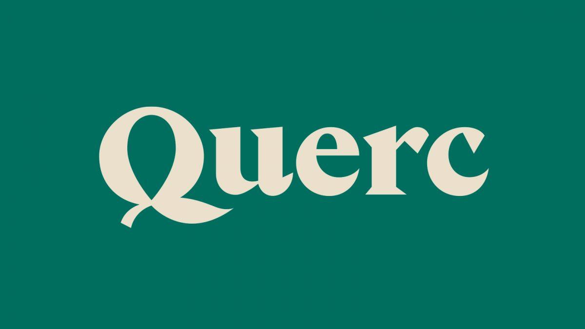 diseño de logotipo para Querc, venta de fincas rústicas en Benicarló Vinaròs y Peñiscola