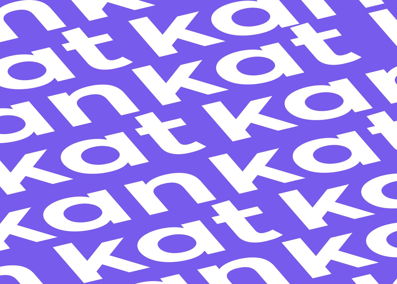 Kat Kan, Identidad corporativa, logotipo, patron corporativo