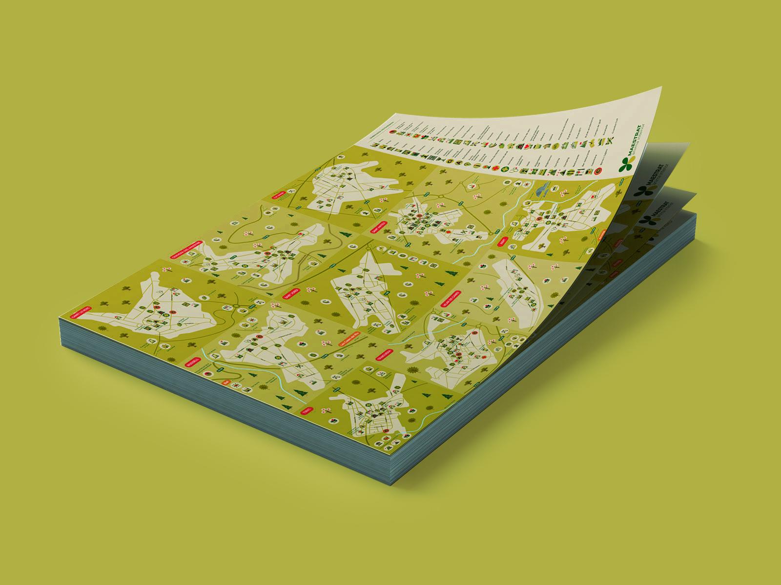 Mapa Turístico ilustrado