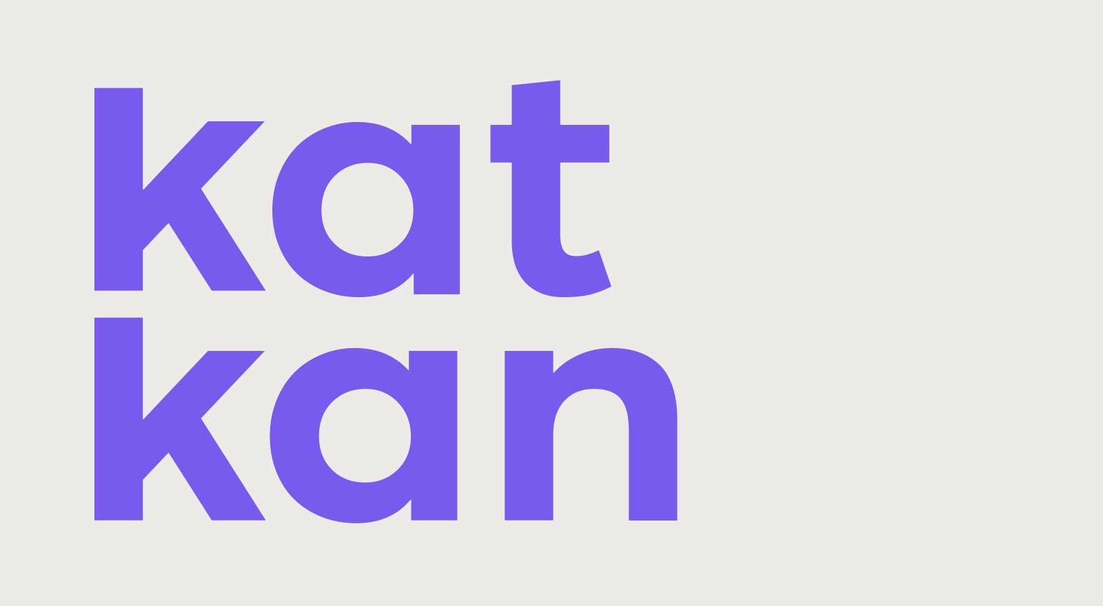 tipografía katkan